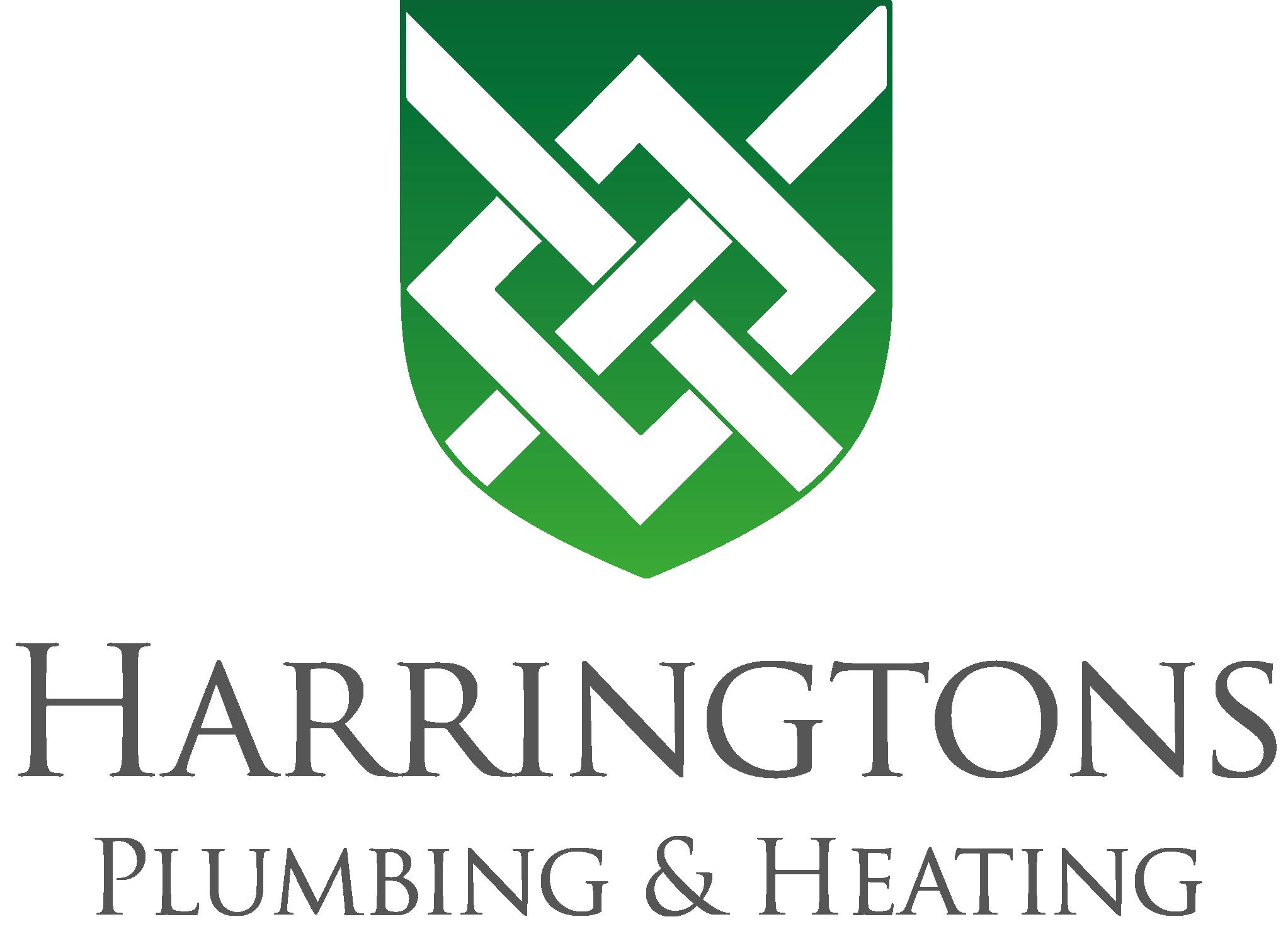 Harringtons Plumbing new logo green