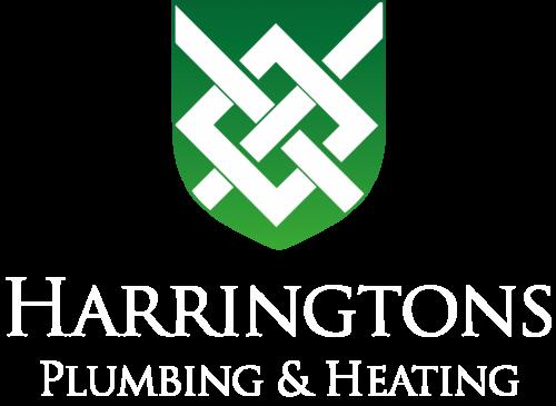 Harringtons Plumbing new logo 2 green white text